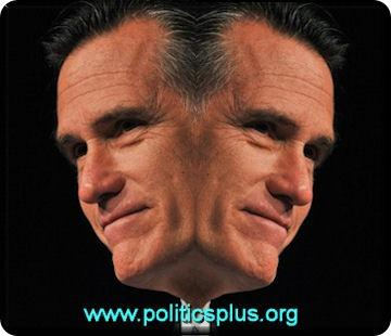 Two Faced Mitt Romney